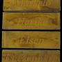 eiken houten naamborden